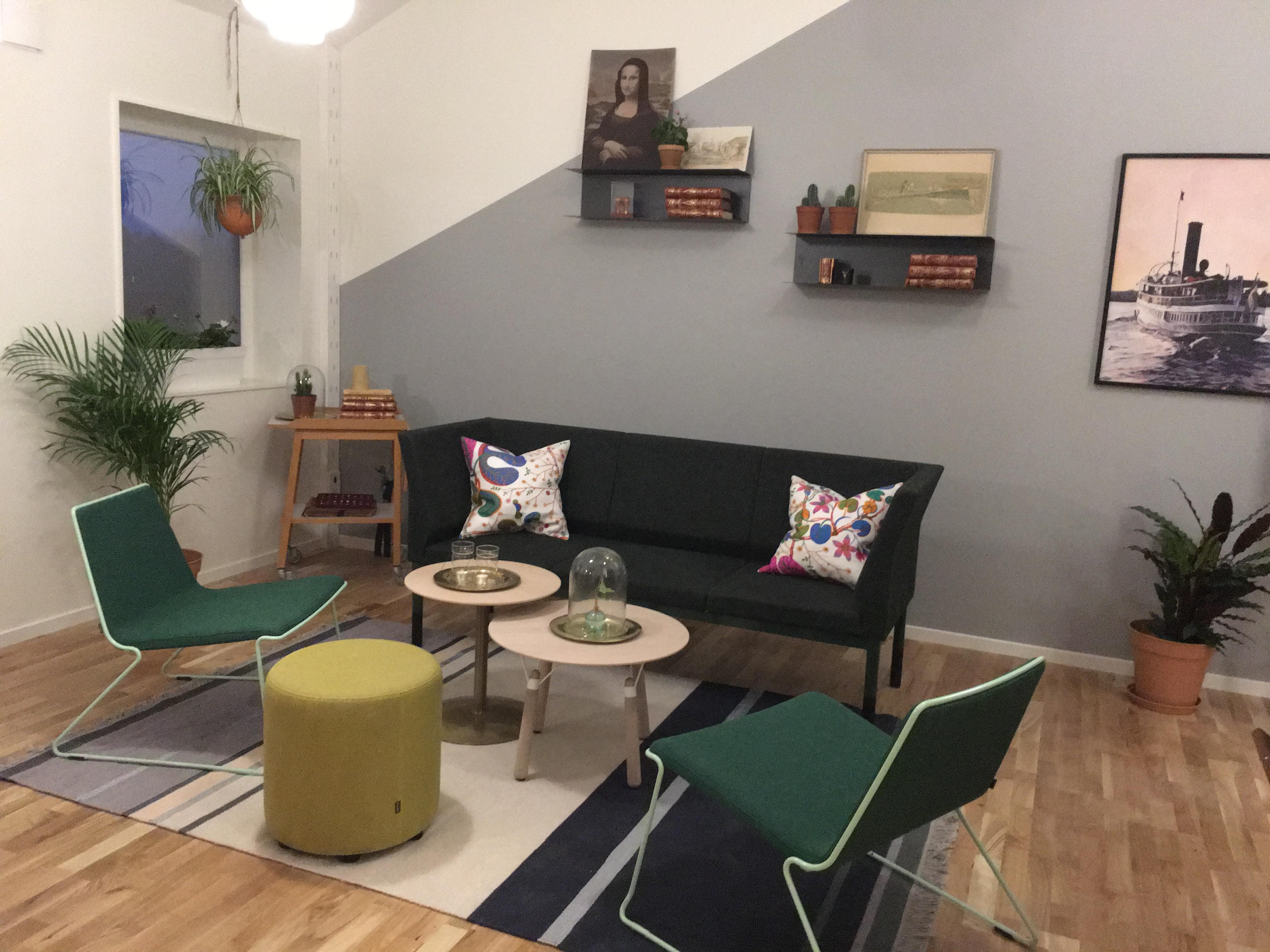 Hus utan sladd - Wenngarn vardagsrummet