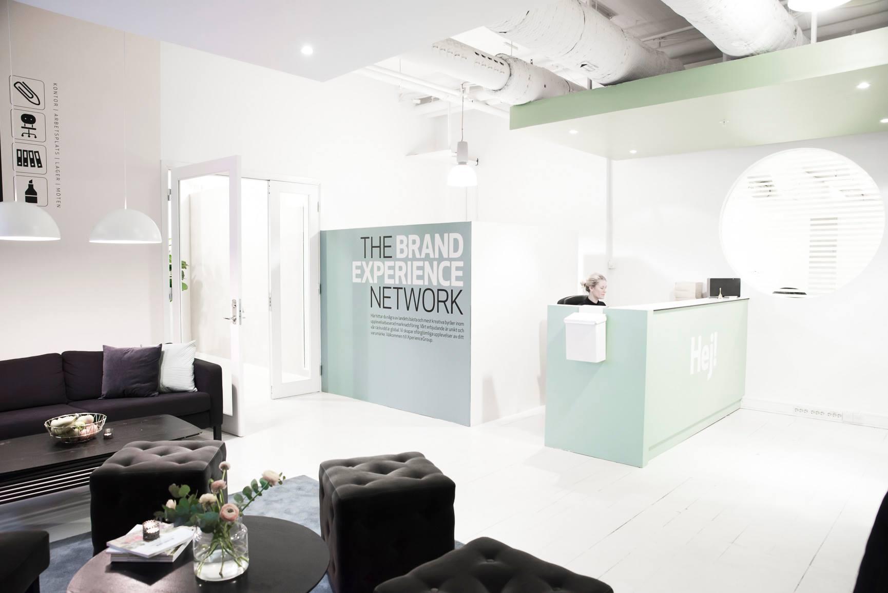 Receptionen meetingroom