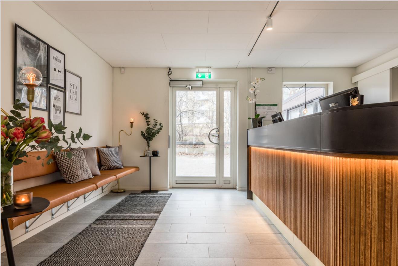 Egna designade receptions möbler - Receptionsdisk möbel AW