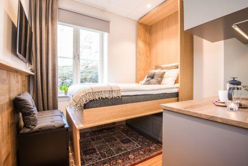 Botell Volta egen design möbler - Fällsäng
