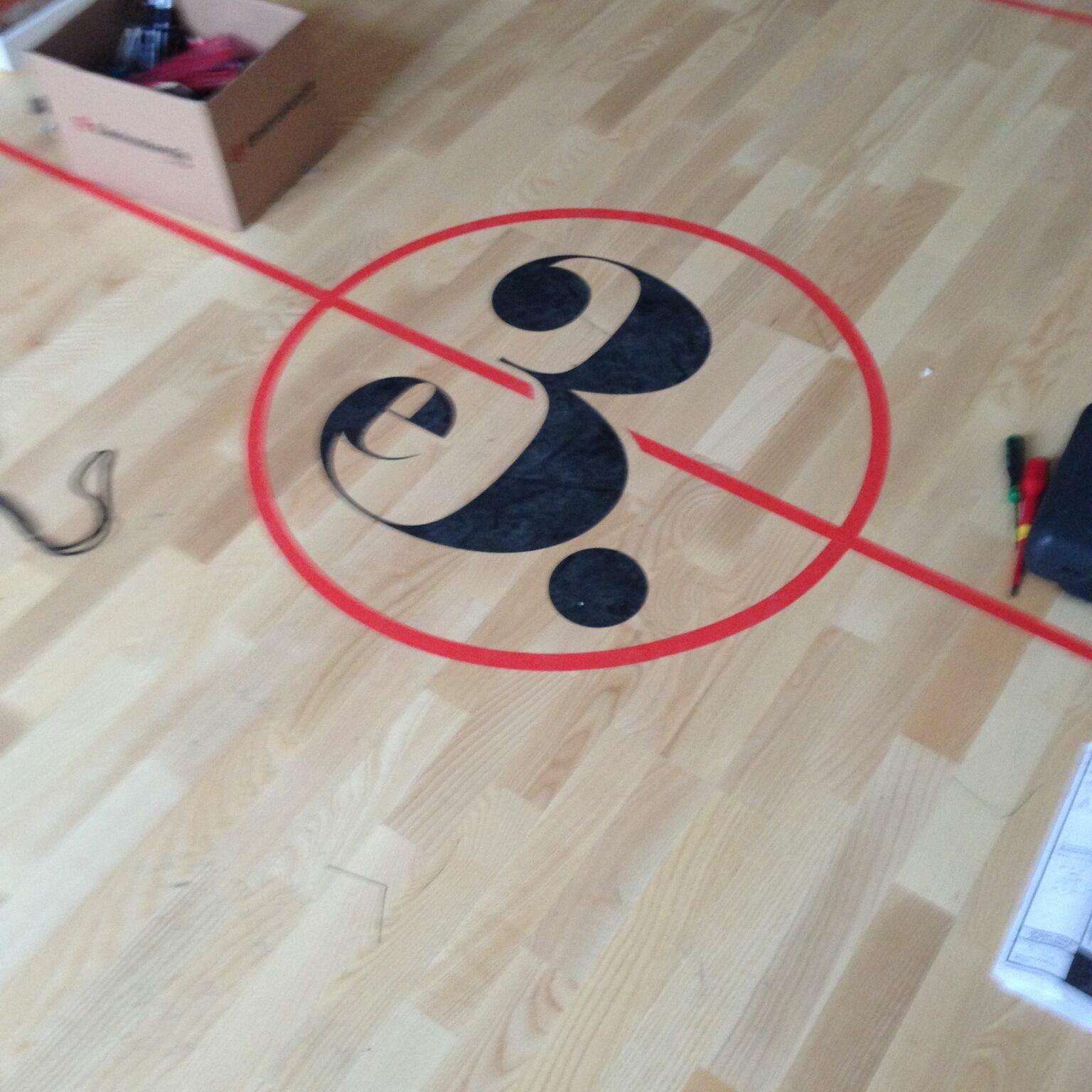 basket plan med logo