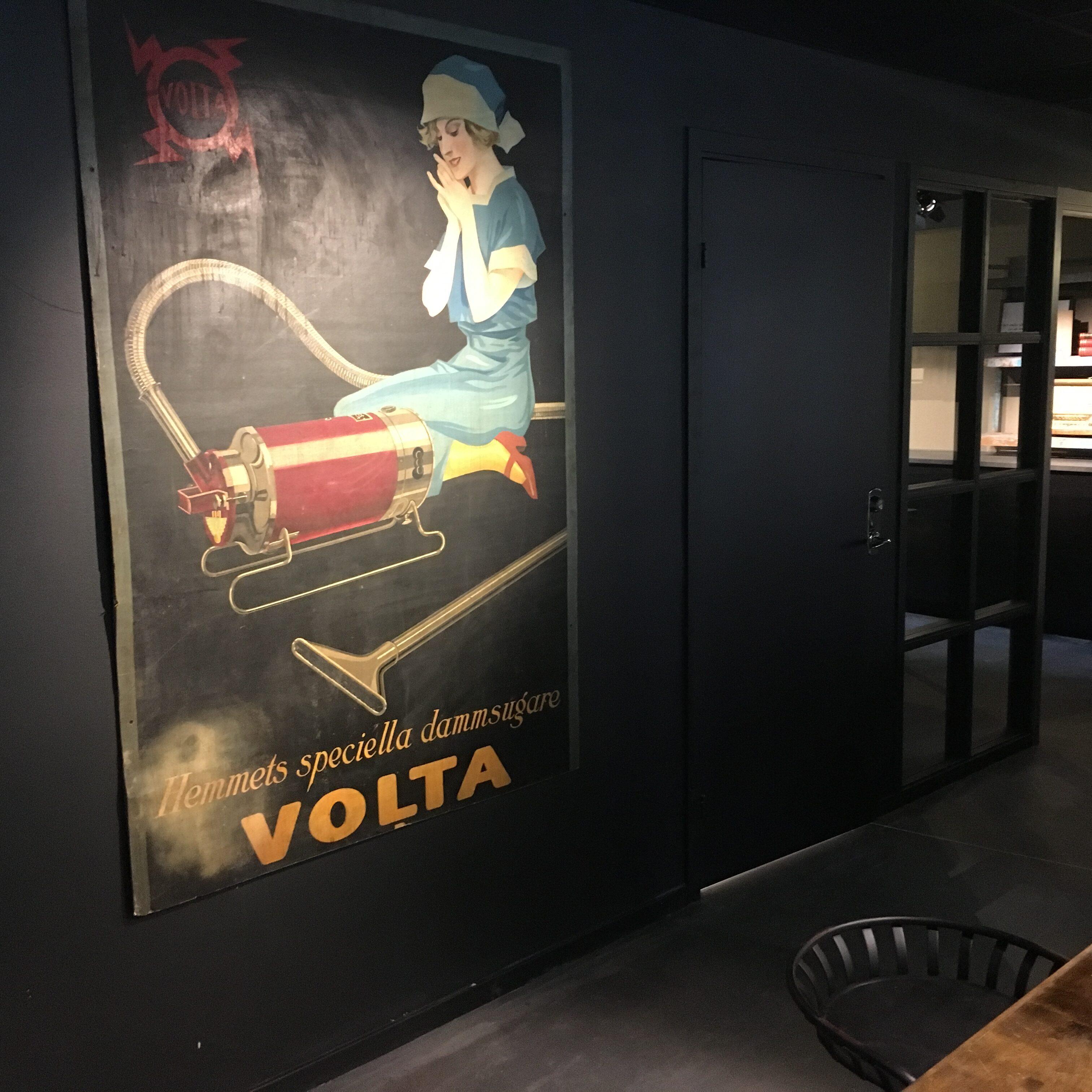 lobby träskylt
